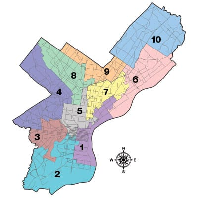 What is Gerrymandering and What Can We Do About It? |Philadelphia City Hall Map